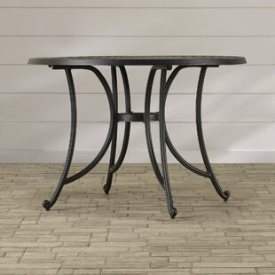 Carmen Metal Dining Table by Sol 72 Outdoor