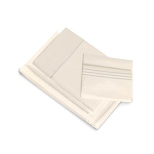Darby Home Co Montpelier 400 Thread Count 100% Cotton Fitted Sheet Set