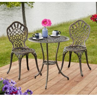 Hempstead 3 Piece Bistro Set by Ophelia &..