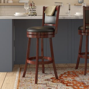 Terranova 30 Swivel Bar Stool Charlton Home