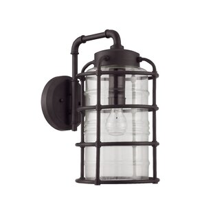 17 Stories Aario 1-Light Outdoor Wall Lantern