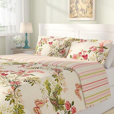 Annaelle Cotton Reversible Quilt Set