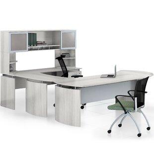Mayline Group Medina 9 Piece Standard Desk Office Suite