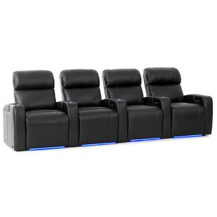 HR Series Home Theater Recliner (Row of 4) by Ebern Designs