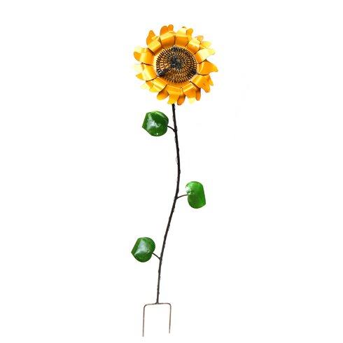 Superieur Small Sunflower Garden Stake