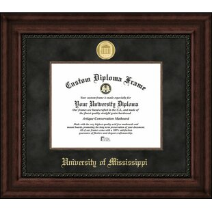 NCAA Mississippi Rebels Executive Diploma Frame By Campus Images