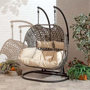 Gurganus Cocoon Patio Chair with Cushion