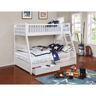 Schwanke Twin Over Full Bunk Bed by Harriet Bee