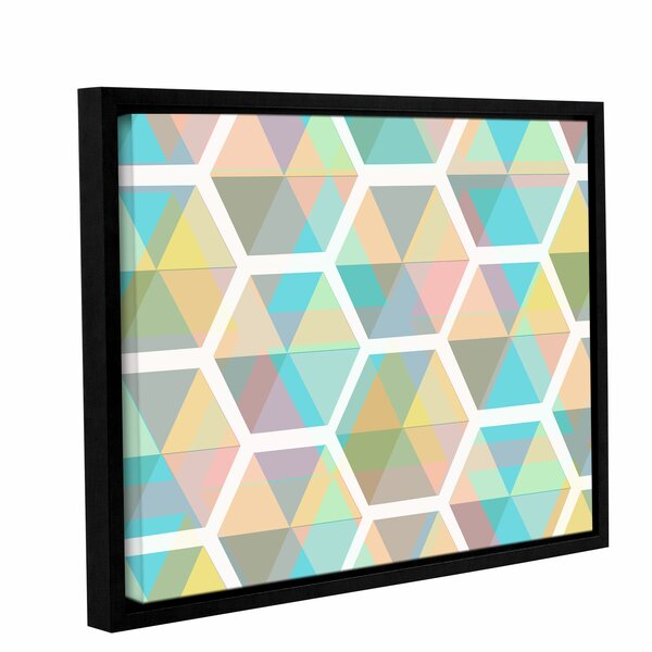 George Oliver Hive Framed Graphic Art On Wrapped Canvas Wayfair