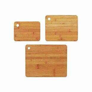 3-Piece Solid Wood Cutting Board Set