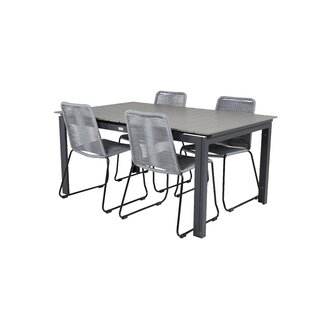 Albom 4 Seater Dining Set By Sol 72 Outdoor