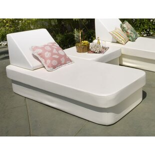 Resort Daybed With Lean Headboard Bolster by La-Fete Discount