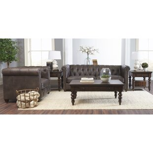Darby Home Co Kiana Leather Configurable ..