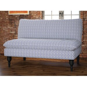 bernadine armless loveseat