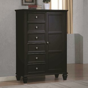 Ames 6 Drawer Gentleman's Chest