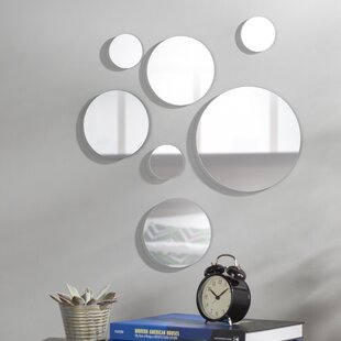 d8db643723fb 7 Piece Round Glass Mirror Set