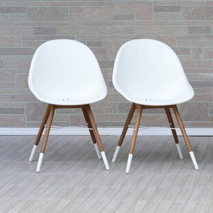 Kia Teak Patio Dining Chair (Set of 2)