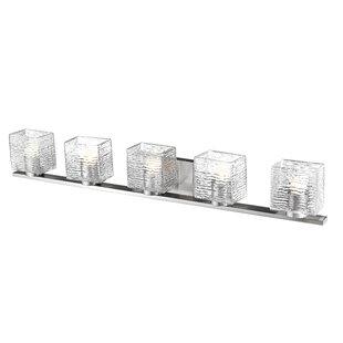 Orren Ellis Foreman 5-Light LED Vanity Light