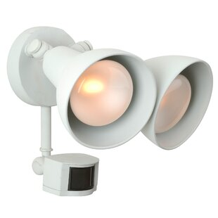 Flood light with Motion Sensor by Craftmade