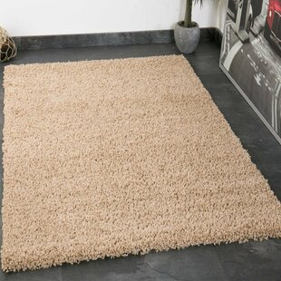 Prime Shag Beige Rug by House Additions