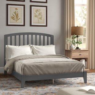 Sameer Queen Solid Wood Panel Bed by Red Barrel Studio