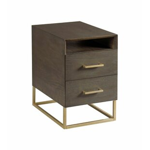 Ansel Charging End Table w..