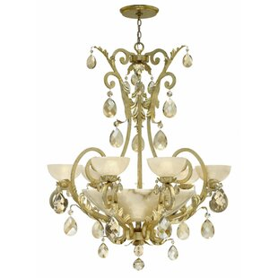 Fredrick Ramond Barcelona 10-Light Shaded Chandelier