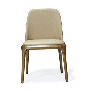 Courding Genuine Leather Upholstered Dining Chair by Ceets