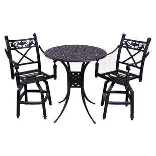 California Outdoor Designs Baldwin 3 Piece Bistro Set