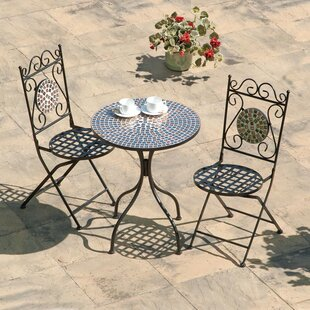 Galaxy 2 Seater Bistro Set By Suntime
