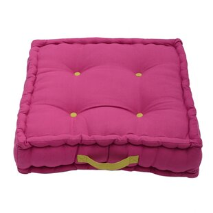 Minster Cotton Floor Cushion With Filling By Brayden Studio