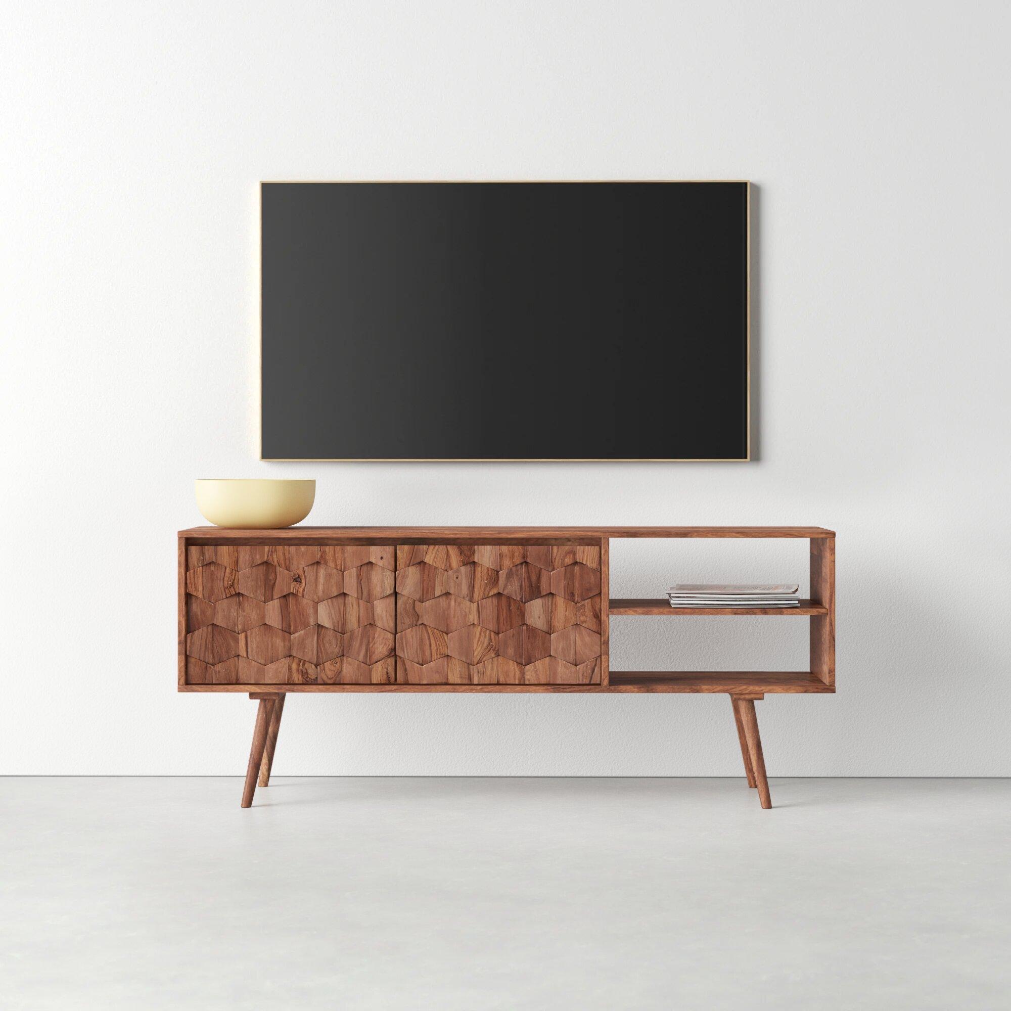 Modern 65 Inch Tv Tv Stand Tv Stands Allmodern