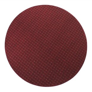 Brookstonval Red Rug by Charlton Home