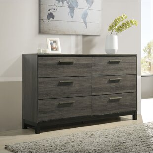 Mandy 6 Drawer Double Dresser