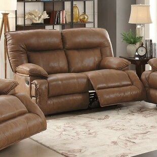 Shop Rozar Breathable Reclining Loveseat by Charlton Home