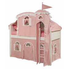 Lilia Twin Loft Bed Customizable Bedroom Set by Viv + Rae