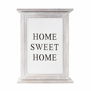 Home Sweet Home Key Organiser By Brambly Cottage