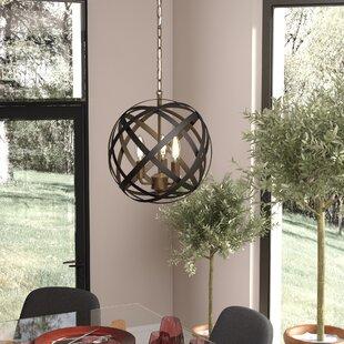 Isai 3-Light Globe Chandel..