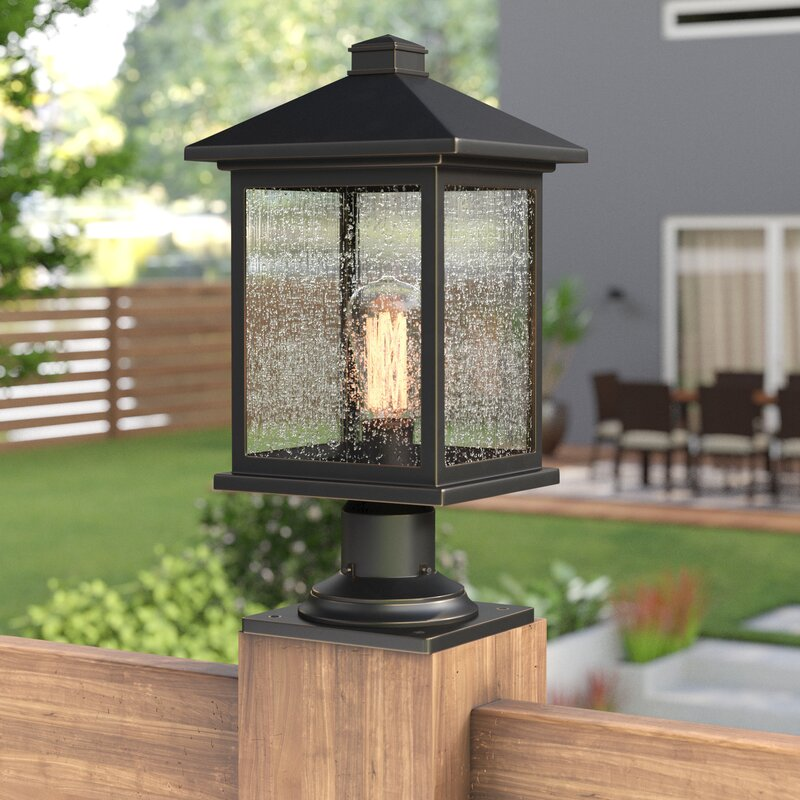 Sol 72 Outdoor Lovette 1 Light Pier Mount Light Reviews Wayfair