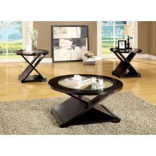 Buariki 3 Piece Coffee Table Set