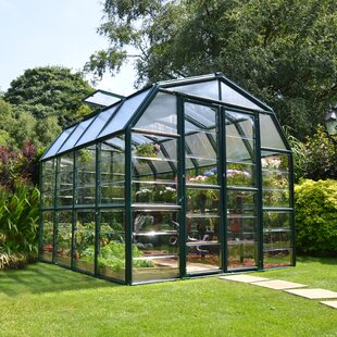 Rion Greenhouses Grand Gardener 2 Clear 8 Ft. W x 8 Ft. D Greenhouse