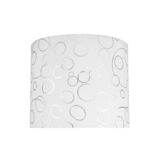 Read Reviews 12 Fabric Drum Lamp Shade By Aspen Creative Corporation