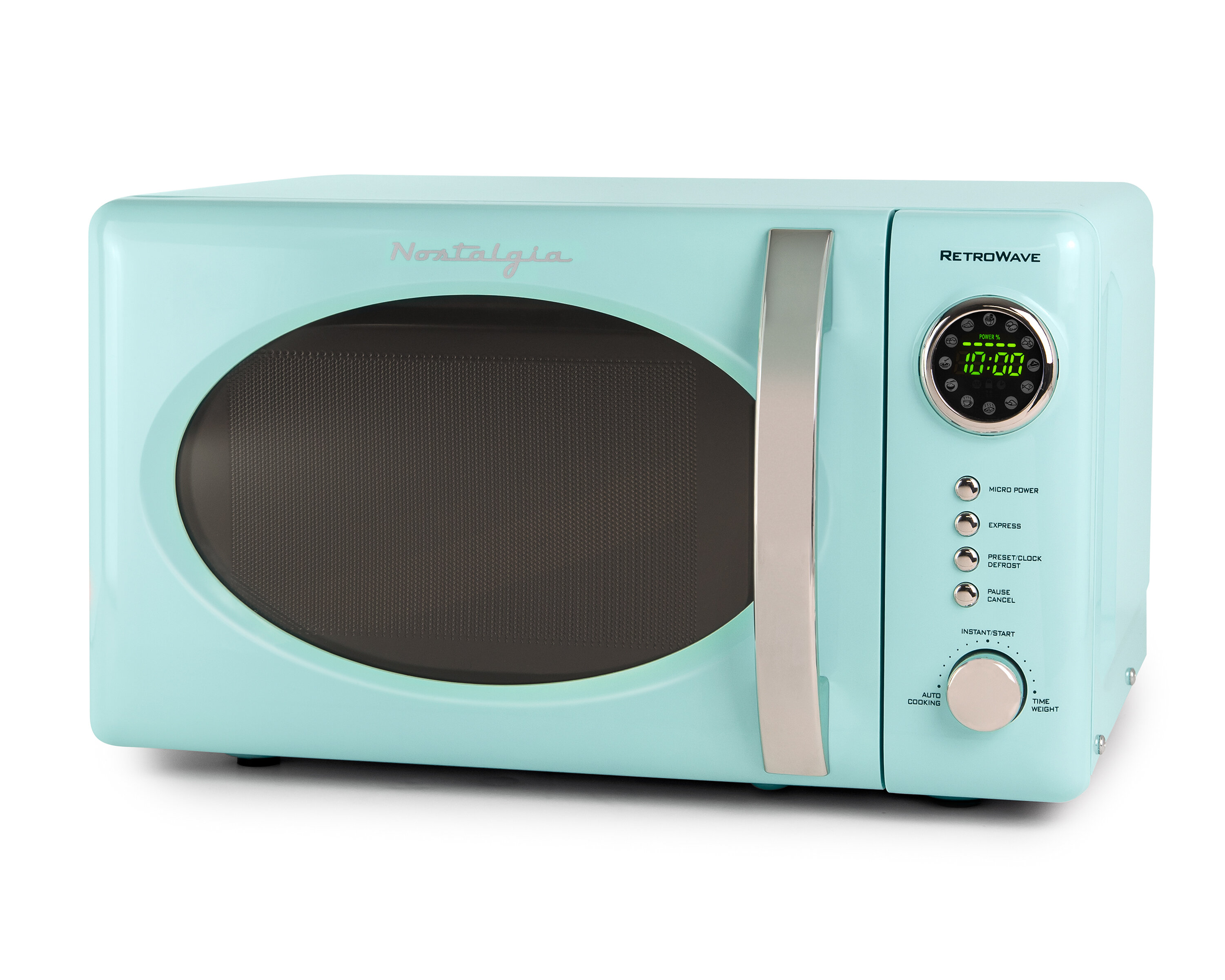 Nostalgia Electrics Retro Series 14 0 7 Cu Ft Countertop Microwave Reviews Wayfair