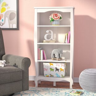 Buy luxury Malachi 4 Shelf 54.9 Bookcase by Viv + Rae Reviews (2019) & Buyer's Guide