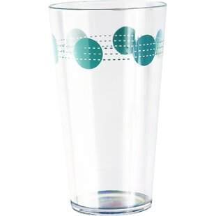 South Beach 19 oz. Acrylic Drinking Glass (Set of 6)
