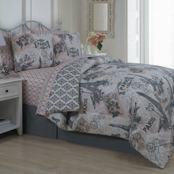 Avondale Manor Cherie 8 Piece Reversible Comforter Set Reviews