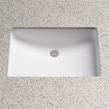 Undermount Bathroom Sink toto augusta decorative rectangular undermount bathroom sink with
