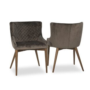 Abagail Upholstered Dining Chair (Set of 2) Ivy Bronx