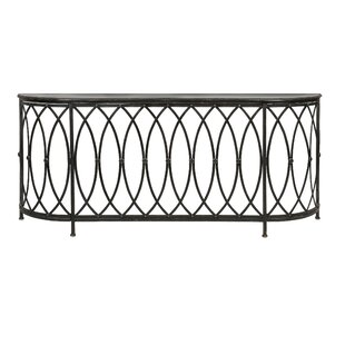 Crothersville Console Table by Fleur De Lis Living 2019 Sale