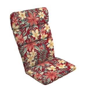 Tropical Outdoor Adirondack Chair Cushion